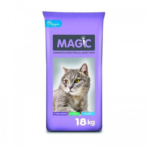 """מג'יק-מזון חתולים 18 ק""""ג"""
