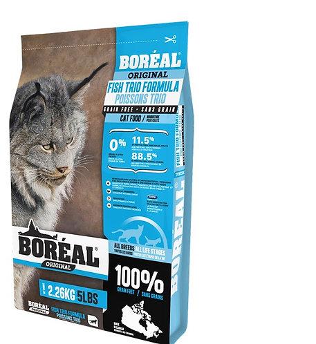 """בוריאל אוריג'ינל מיקס דגים לחתולים 2.26 ק""""ג"""