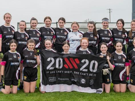 Kilmeena V St Marys County U-14 Girls B Semi-Final 2020-09-10