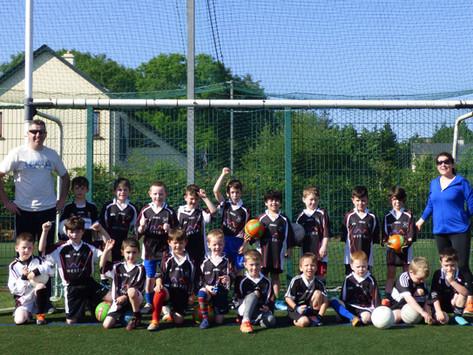 U7 Boys make their debut against Westport...