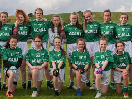 Kilmeena V Achill, U13 Girls C/Ship 2019-08-19.