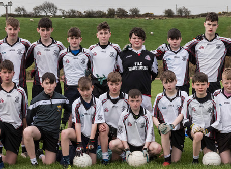 Kilmeena V Ballina U14 Boys League Div 1 2019-04-04,