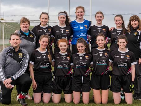 Kilmeena V Westport Junior Ladies 9-a-side Local League 2019-04-21