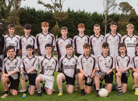 Kilmeena V Parke/Keelogues/Crimlin U16 Boys West Mayo B Championship Final 2019-09-24
