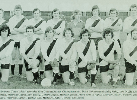 We remember 1977 and the men that brought the 1st County Junior Title to Kilmeena