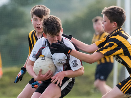 U13s fall short in topsy-turvy game against Parke/Keelogues/Crimlin