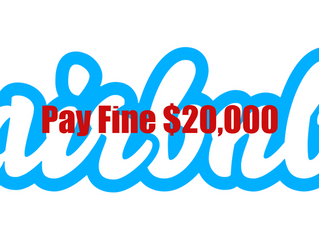 Miami Beach Fines Homeowners $20,000 For Airbnb Infraction