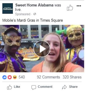 Promoted Facebook Live
