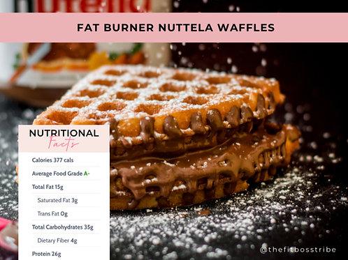 Fat Burner Nutella Waffle