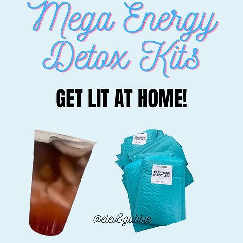 Mega Energy Detox Home Kit