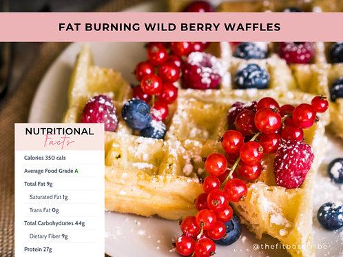 Fat Burning Wild Berry Waffle