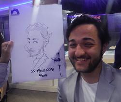 caricature Sorrento
