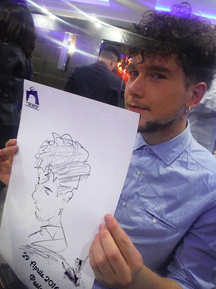 caricature Avellino