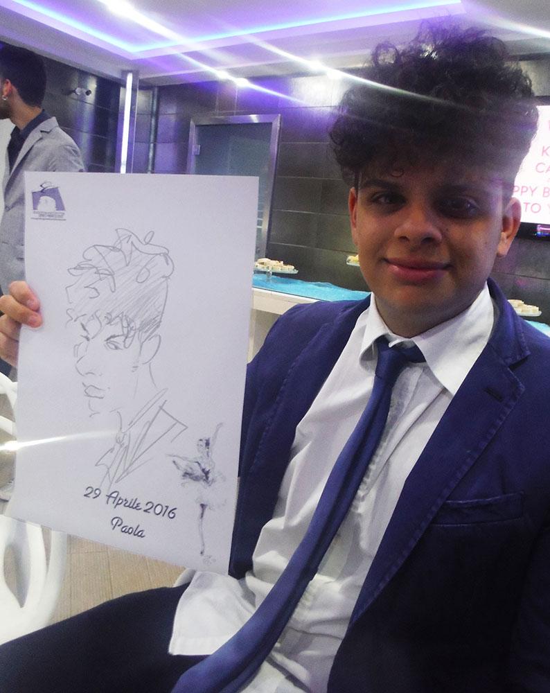 caricature Caserta
