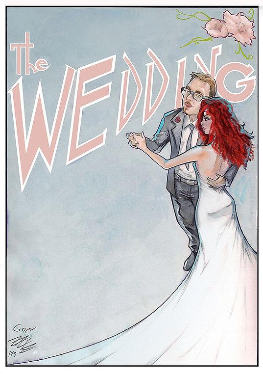 caricaturista al tuo matrimonio