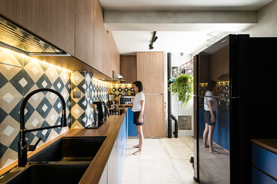 5 kitchens decorated with eye-catching patterned tiles