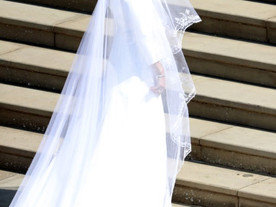 Meghan Markle Weds in Givenchy by Clare Waight Keller
