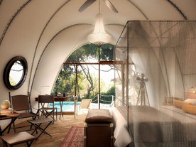 WHAT IT'S LIKE TO LIVE IN A COCOON SUITE AT WILD COAST TENTED LODGE, SRI LANKA
