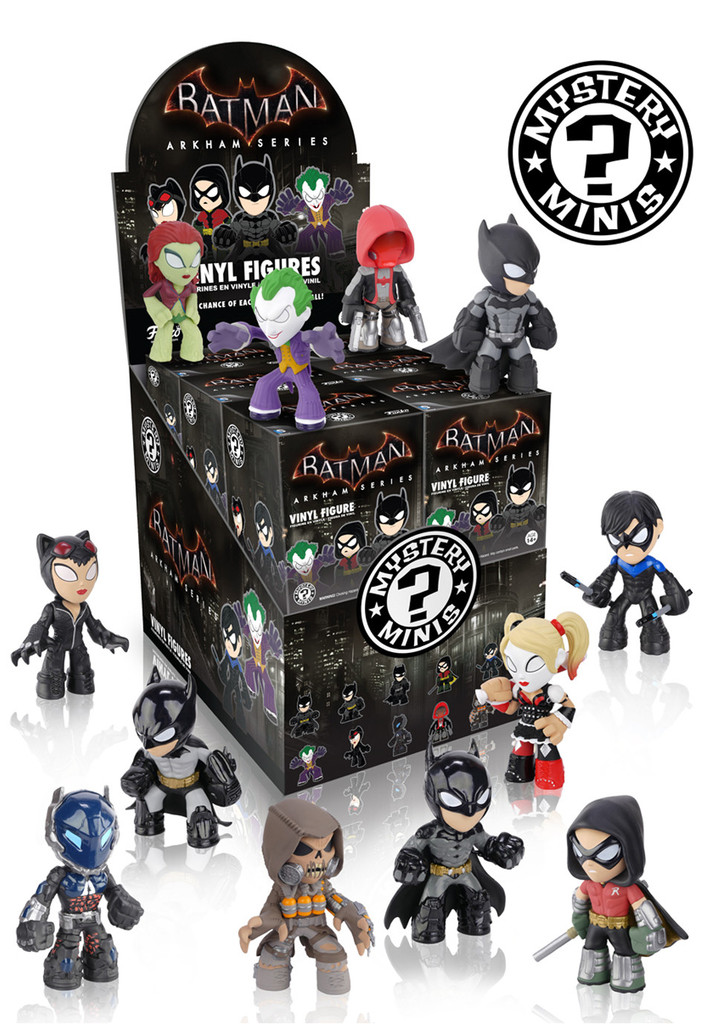 Batman Arkham Series Funko Mystery Minis Vinyl Figures Catwoman