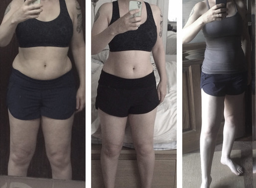 20 MINUTES OF STRENGTH TRAINING A DAY. WHAT A TRANSFORMATION!