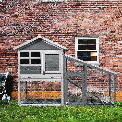 Large Wooden Chicken Coop for Indoor & Outdoor Use