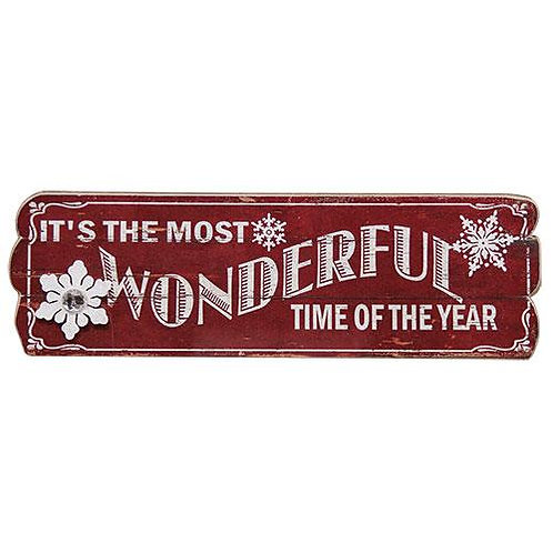 Pack of 2 Wonderful Time Sign