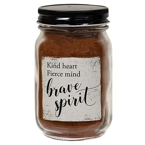 Pack of 2 Brave Spirit Pint Jar Candle Buttered Maple Syrup