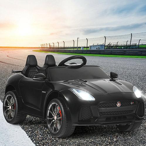 12V Jaguar F-Type SVR Licensed Kids Ride On Car-Black