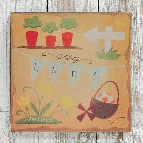 *Egg Hunt Box Sign
