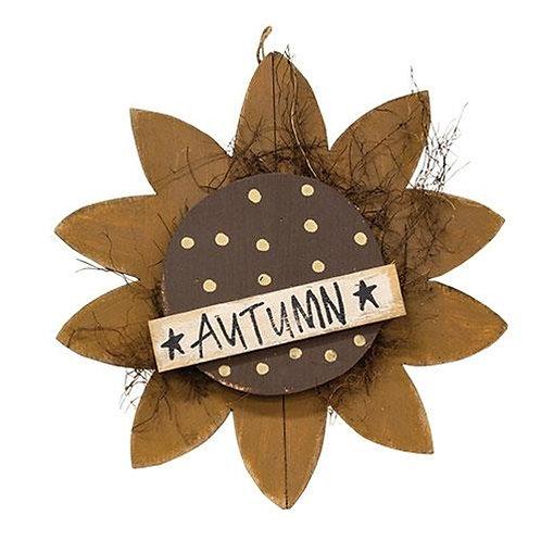 "Hanging ""Autumn"" Sunflower 22"""
