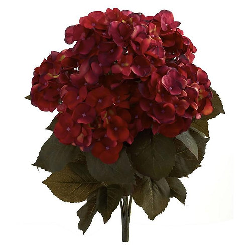 "20"" Fall Hydrangea Artificial Plant (Set of 2)"
