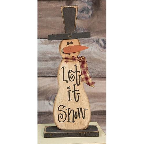 Skinny Let It Snowman on Base