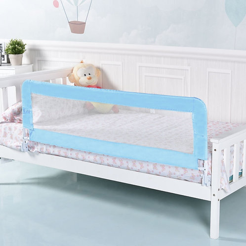 """59"""" Breathable Baby Children Toddlers Bed Rail-Blue"""
