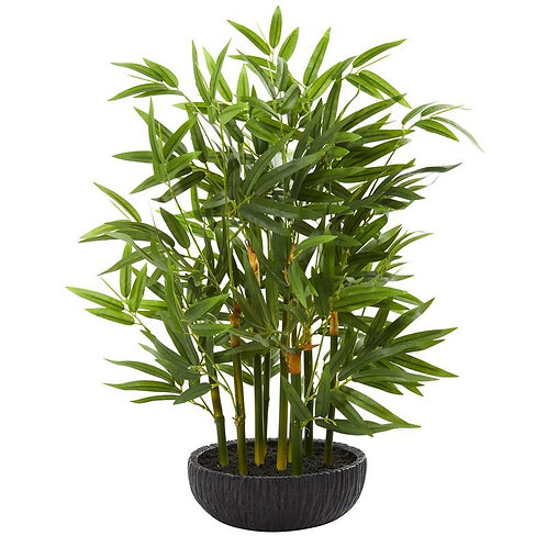 20' Bamboo Artificial Plant
