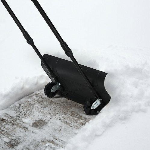"30"" Adjustable User-friendly Handle Rolling Snow Forklift"