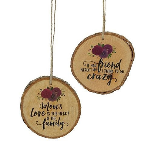 Mom's Love Tree Tag 2 Asst.
