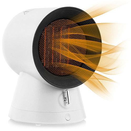 1500 W Portable Mini Electric Desktop Fan heater-White