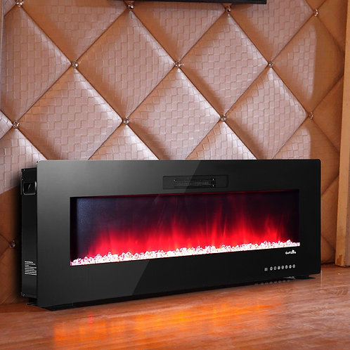 Recessed Wall Mounted Standing Electric Heater Electric Fireplace-50 ft