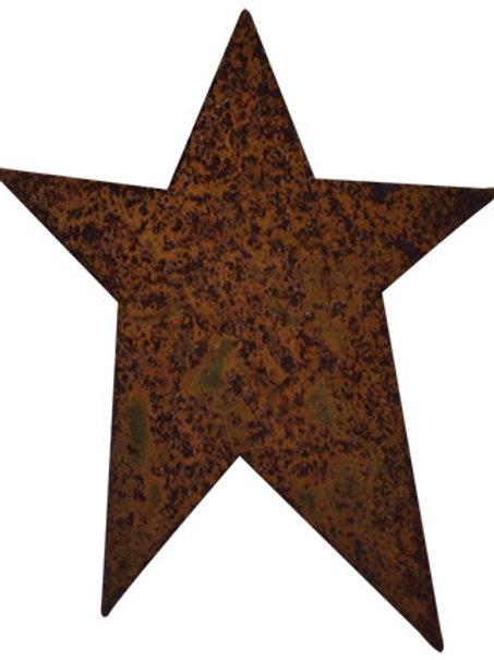 """50/pkg Rusty Tin Folk Stars 4"""""""