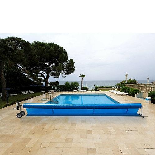 18 Ft Solar Aluminum Pool Cover Reel Set