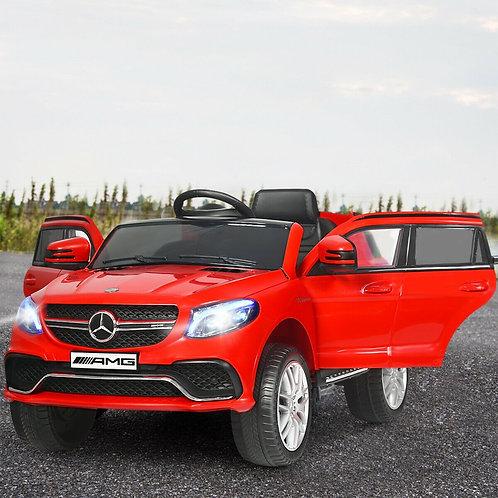12V Mercedes Benz GLE Licensed Kids Ride On Car -Red