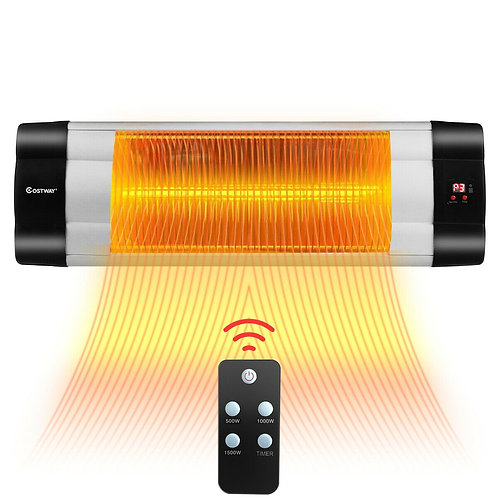1500 W Infrared Patio Heater w/ Remote Control