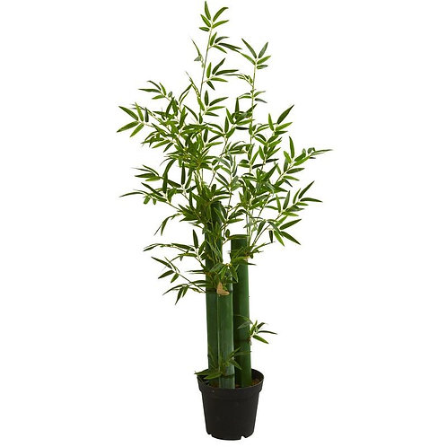5' Green Bamboo Artificial Tree