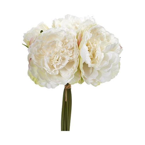 Peony Bouquet Artificial Flower (Set of 6)