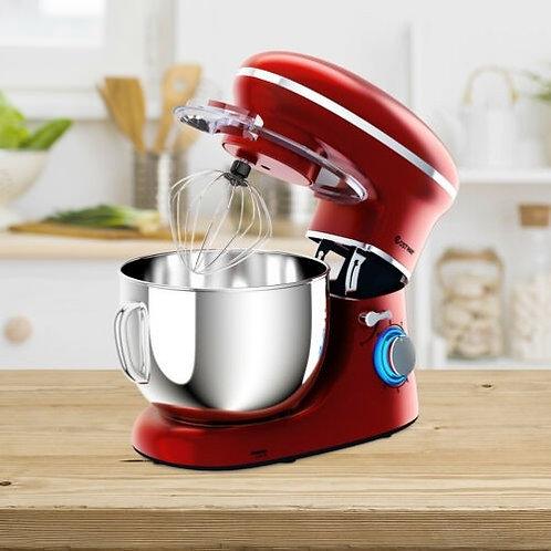 6.3 Quart Tilt-Head Food Stand Mixer 6 Speed 660W-Red