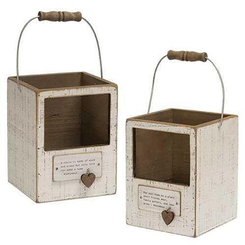 *Home Charm Lantern Box 2 Asst.