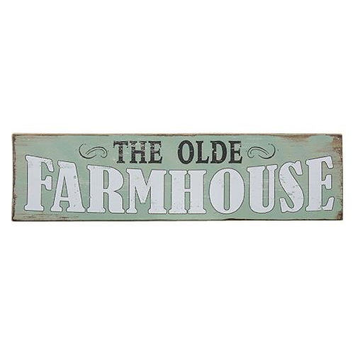 Pack of 2 The Olde Farmhouse Sign