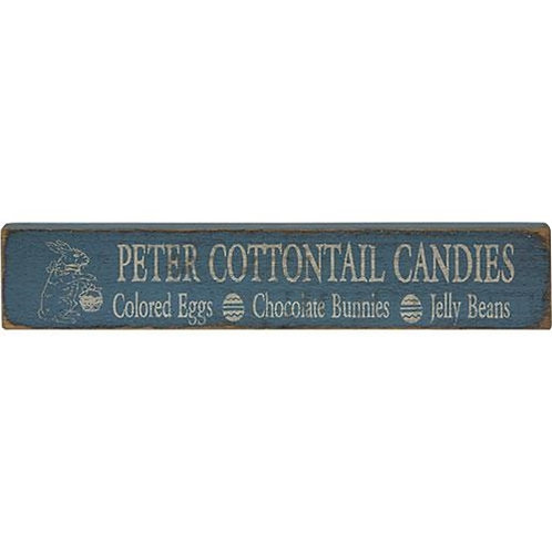Pack of 2 Peter Cottontail Sign