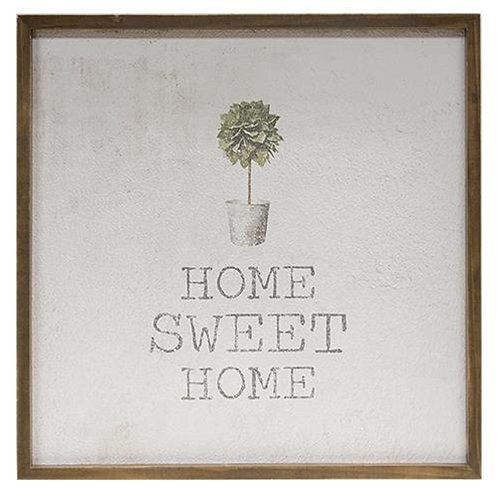 *Framed Watercolor Wall Art - Home