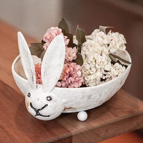 Distressed Bunny Dish